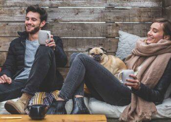vriendenweekend met hond