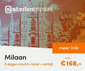 stedentrips milaan banner